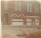 View of fire station truck doors