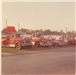 Five fire department vehicles lined up