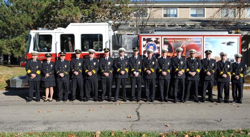 Loveland-Symmes Fire Department Officers - 2009