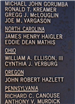 Ohio section of September 11, 2001 memorial plaque