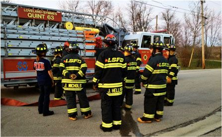 ESU Members training on Quint 63